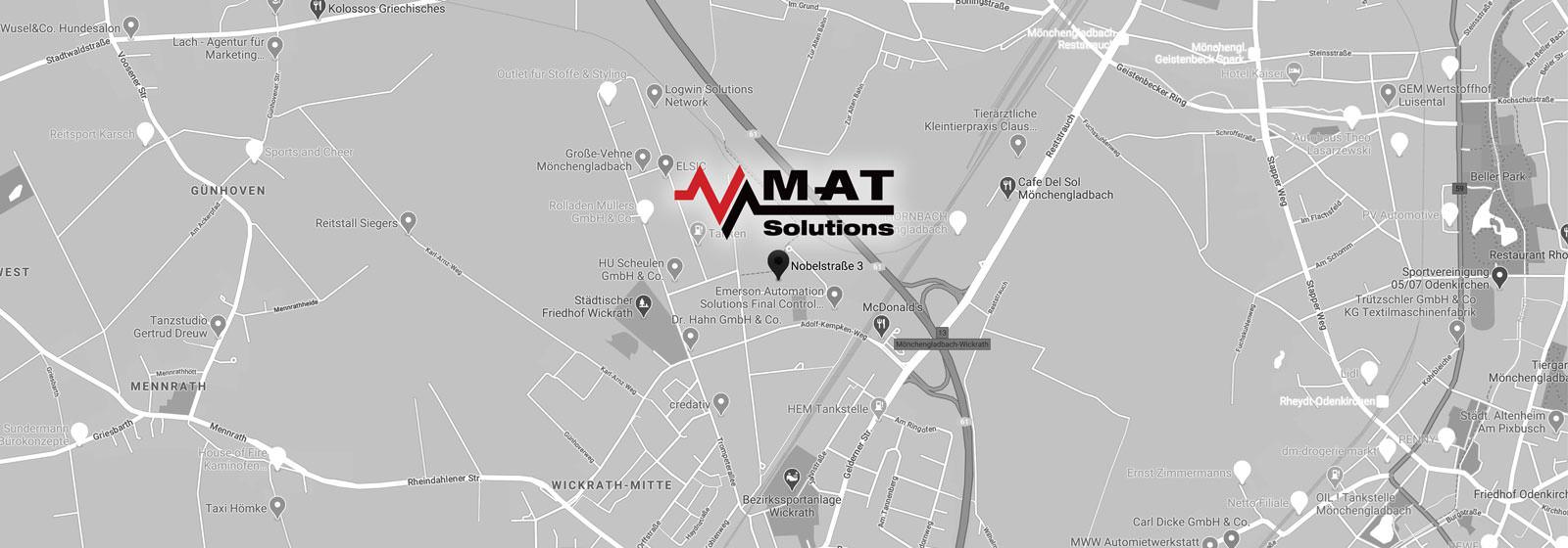MAT Solutions GmbH - Nobelstraße 3-5 - 41189 Mönchengladbach Deutschland